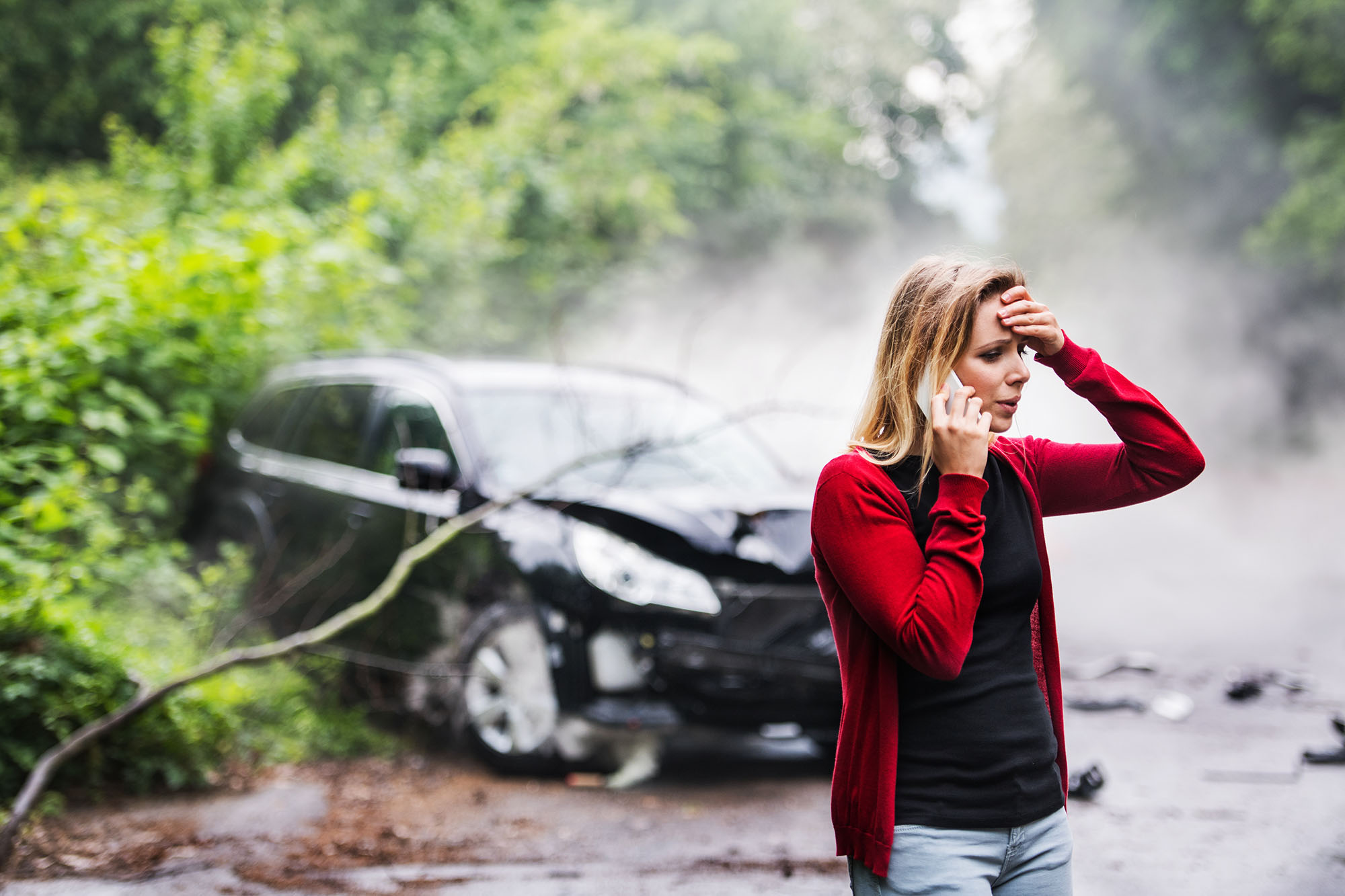 Tow Away Wrecked Car and Insurance Claim Assistance